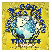 3ª Copa AMÉRICA VIDROS Encerrada em 07/11/19