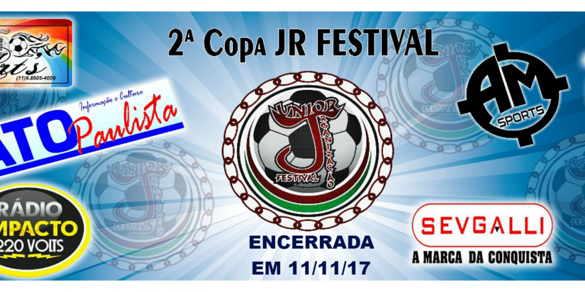 2ª Copa Jrfestival - Encerrada
