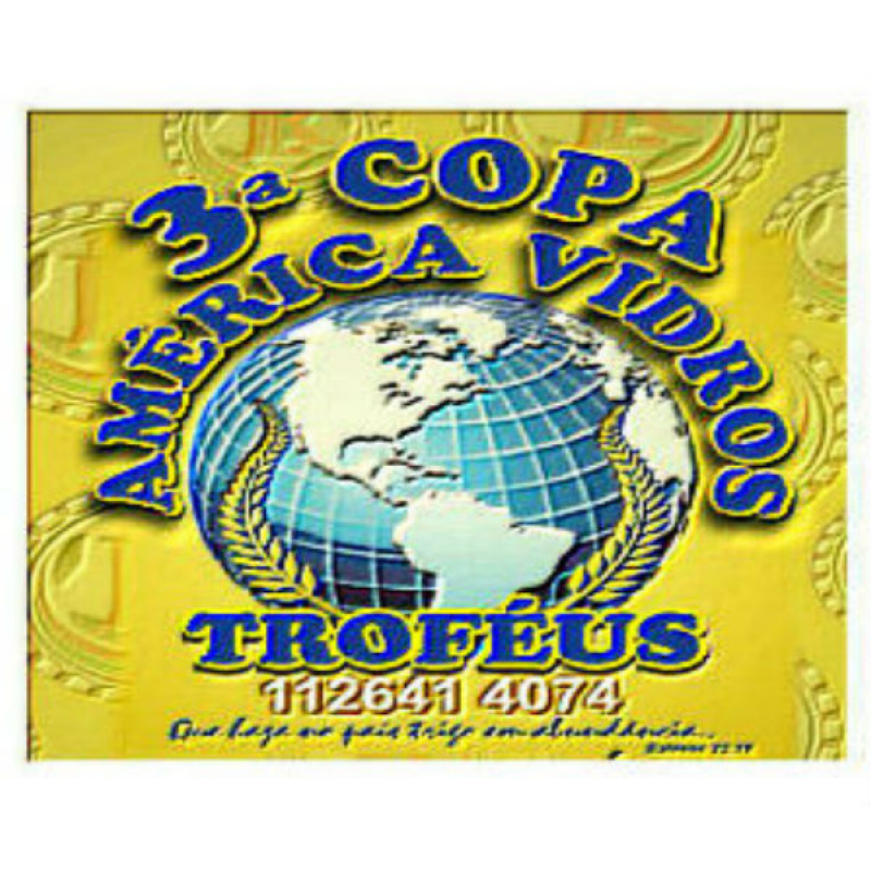 3ª Copa AMÉRICA VIDROS (Encerrada)